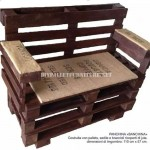 How to make a bench with pallets step by step