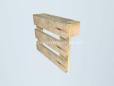 How to make a bench with pallets step by step 4