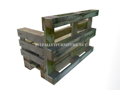 How to make a bench with pallets step by step 7