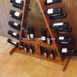 Wine racks options made with pallets