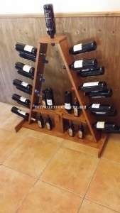 Wine racks options made with pallets 1