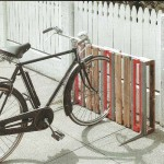 You don't have a good place to park your bike? Pallets are the solution!