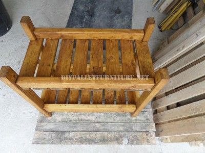 Serving trolley made with pallets 6