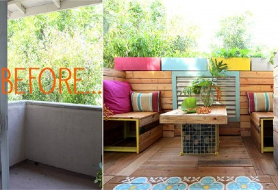 A tropical paradise with pallets 2