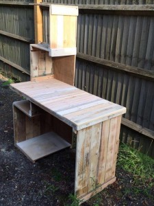Design desk with pallets 2
