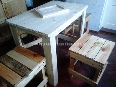 Fully furnished kitchen with pallets 1