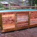 Step by step pallet composter