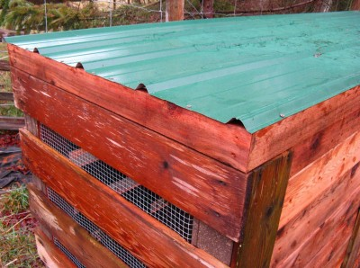 Step by step pallet composter 6