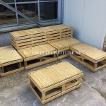 Plans to build modular pallet benches