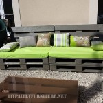 Sofa and table for the yard with pallets