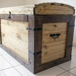 Trunk made with pallets
