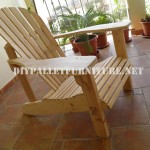 Adirondack chair with pallets