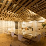 Hiroki Tominaga designs a lowcost office with 130 shipping pallets!
