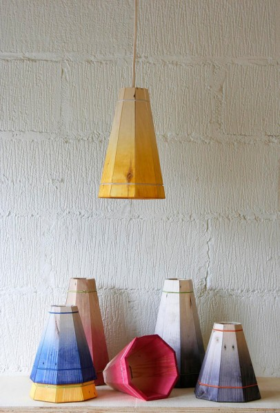Pendant lamp with pallet planks 4