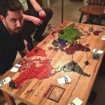 Table to play risk