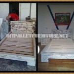 Design bed with pallets