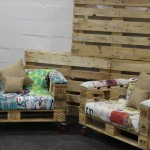 Design armchairs with only 3 pallets