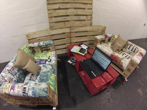 Design armchairs with only 3 pallets 4