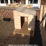 Pallets doghouse