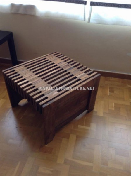 Design table with pallet tables 1