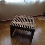 Design table with pallet tables