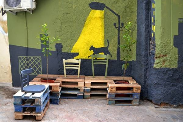 Urban revitalization with pallets 2