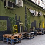 Urban revitalization with pallets
