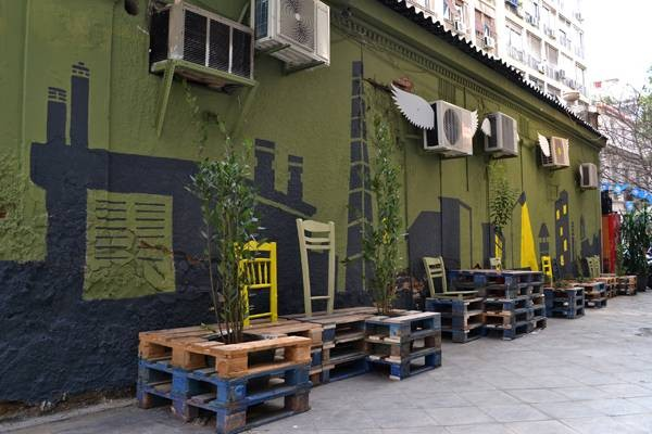 Urban revitalization with pallets 3