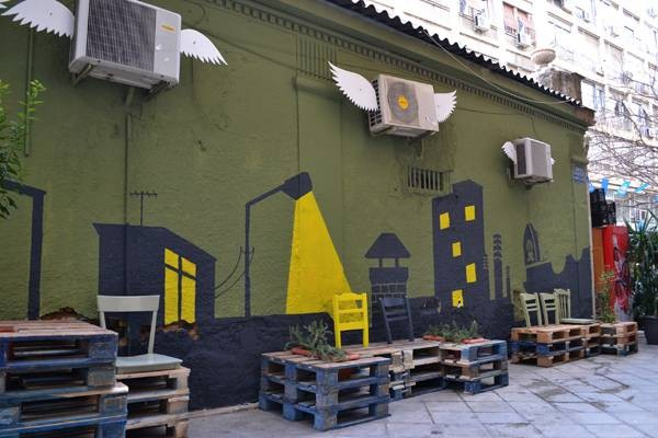Urban revitalization with pallets 4