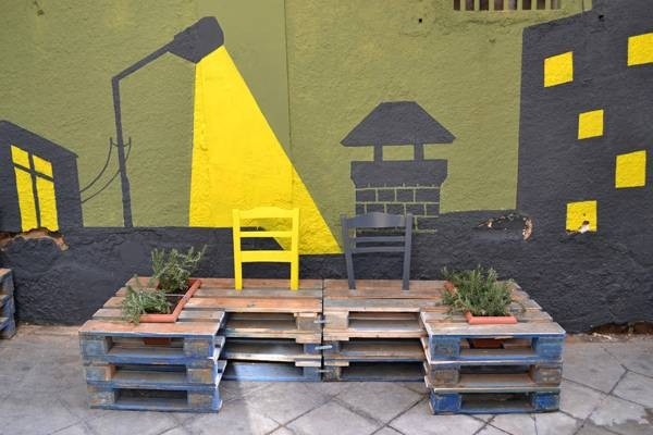 Urban revitalization with pallets 5