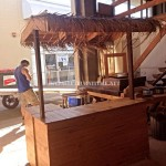 Hawaiian style Bar with pallets