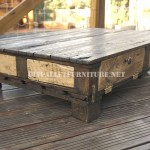 Rustic living room table