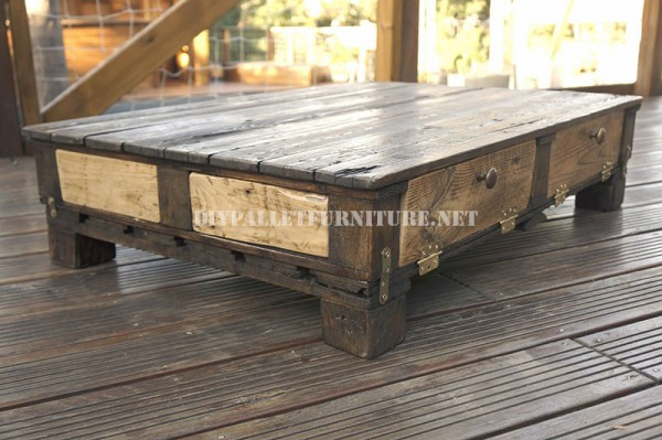Rustic living room table 1