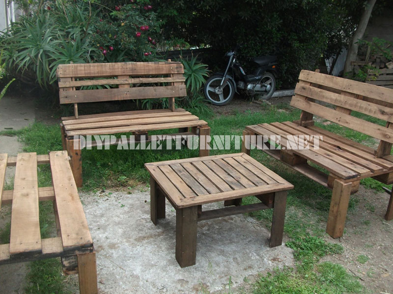Patio furniture with palletsDIY Pallet Furniture