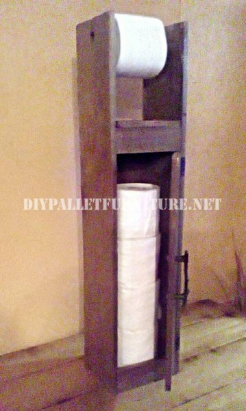 Toilet Paper Holderdiy Pallet Furniture Diy Pallet Furniture