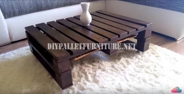 Diy pallet furniture - Construire sa table basse ...