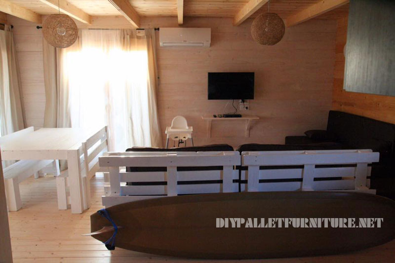 Chalet in Alentejo fully furnished with pallets 2