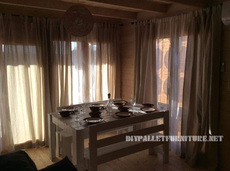 Chalet in Alentejo fully furnished with pallets 3