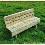 Nice pallets bench