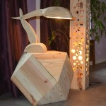 Beautiful designer lamps made with pallets