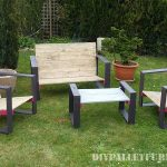 Design furniture for your garden with pallets