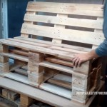How to make a sofa with pallets?