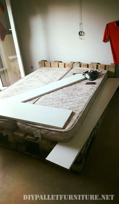 Pallet bed structure 2