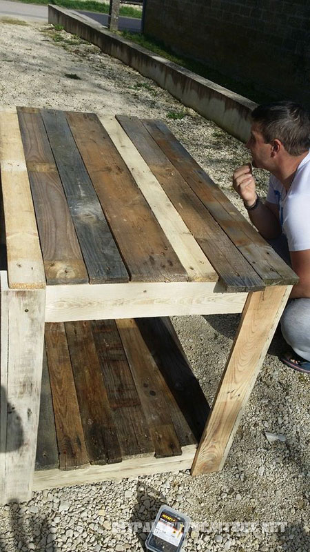 Pallet garden furniture 4