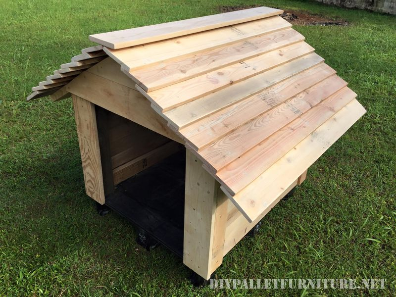 Super pallet doghouse 1