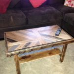 Living room pallet table