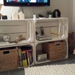 4 Furniture TV with fruit boxes