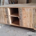 TV cabinet with pallets