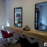 Barber furnished with pallets