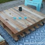 Chill-out space for the terrace with pallets